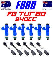 6 x 840cc DENSO E85 FG FPV F6 XR6 BARRA TURBO UPGRADE FUEL INJECTORS