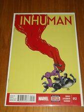 INHUMAN #12 MARVEL COMICS NM (9.4)
