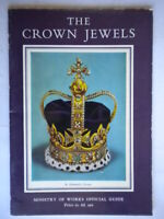 The Crown Jewels in the Wakefield Tower of London 1955 inglese viaggi guide book