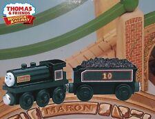 THOMAS & FRIENDS WOODEN RAILWAY ~ DOUGLAS ~ THE SCOTTISH TWIN ~ 2005 RARE W/CARD