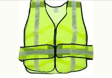 SE EP7015L Safety Vest with Silver Reflective Strips and 5-Point Breakaway OSFA