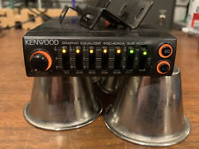 New listing Old School Car Audio! Kenwood Kgc-4042a 5 Band Equalizer. Made In Japan.