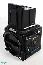 Hasselblad 205FCC Black Medium Format Camera Body With Waistlevel Hood