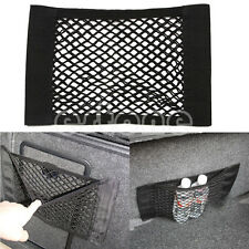Car Auto Rear Trunk Seat Elastic String Net Mesh Storage Bag Pocket Cage Back
