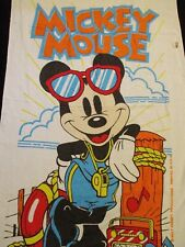 New Old Stock  Walt Disney Mickey Mouse Lifeguard Beach Towel Made in the USA
