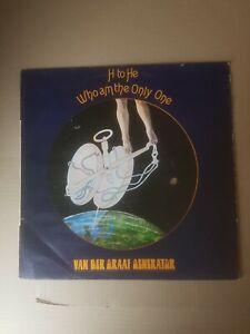 "Van Der Graaf Generator 'H to He Who Am the Only One' 12"" Vinyl 1970 EX/VG+"