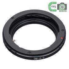 OM-4/3 Olympus OM Mount  Lens to Olympus OM43 4/3 Adapter 43 E-1 5 30 300 520