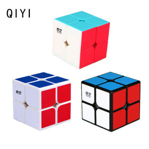 2X2X2 Magic Cube Rubix Rubik Puzzle Super Smooth Fast Speed Cube Xmas Toys Gifts