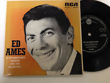 Ed Ames - My Cup Runneth Over, 4 Track RCA Label EP Record