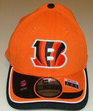 New Era Hat Cap NFL Football Cincinnati Bengals Reverse 39THIRTY M/L Flex Fit