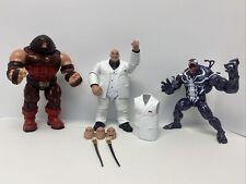 Hot Lot Marvel Legends Lot Juggernaut Monster Venom Kingpin BAF Complete + Extra