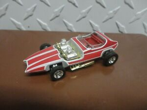 Loose Hot Wheels Red/White Invader w/Real Riders