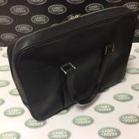 Genuine Land Rover Merchandise/Gear- Leather Briefcase - Black - LRSLGTRXBRF