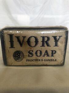 Vintage 1940s  Ivory Soap Bar Large Size Procter & Gamble USA Unopened