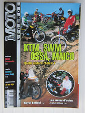 MOTO LEGENDE N°136 /Enduro KTM,SWM,OSSA,MAICO/ROYAL ENFIELD/DUCATI Desmosedici