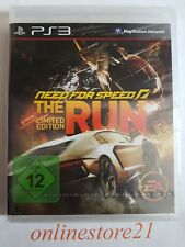 Need For Speed The Run Limited Edition PlayStation 3 NEU PS3