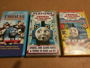 3 Thomas The Tank Engine VHS Videos