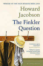 """""""AS NEW"""" The Finkler Question, Jacobson, Howard, Book"""
