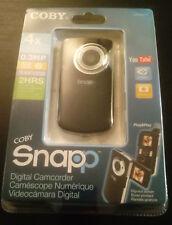 COBY SNAPP DIGITAL CAMCORDER UPC # 716829630129 CAT # CAM3001S