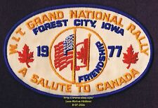 LMH Patch 1977 WINNEBAGO TRAVELERS Club RV Motorhome WIT W.I.T. Canada Nat RALLY