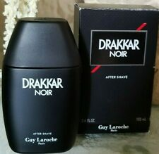 3.4 OZ DRAKKAR NOIR NIB NEW Mens After Shave Guy Laroche Paris 100 mL Aftershave