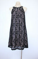 JAYSON BRUNSDON Black Lace Dress Black Label Size 8 Cocktail Event EUC