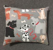 """Beautiful Handmade Fleece Puppy Dog Accent - Throw Pillow  9"""" x 8"""""""