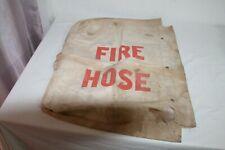 New listing Vintage Fire hose Jacket