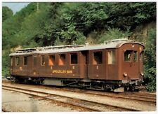 AK Eisenbahn Schweiz / Appenzeller Bahn (AB) Meterspur-Dieseltriebwagen ABDm 2/4