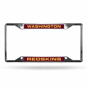 Washington Redskins NFL All Corner EZ View Metal Laser Cut License Plate Frame
