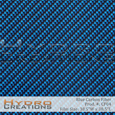 HYDROGRAPHIC FILM FOR HYDRO DIPPING WATER TRANSFER FILM CARBON FIBER BLUE