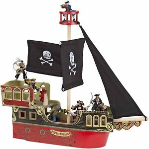 NEW PAPO 60256 Wooden Pirate Ship