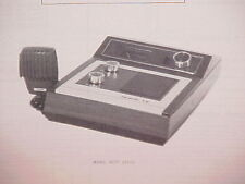 1977 HY-GAIN CB RADIO SERVICE SHOP MANUAL MODEL 3077 (VII)