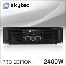 SKYTEC PRO VERSTÄRKER DJ/PA 2-KANAL RACK ENDSTUFE 2400W