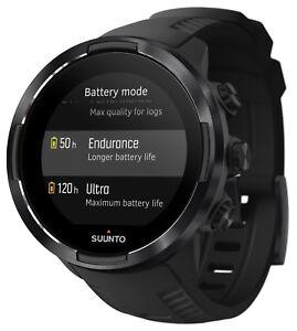 Suunto 9 Multisport GPS Watch Black with BARO 120-hour Battery Life