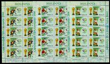 2006 Football,Goleo LION,Pille,Germany FIFA World Cup,soccer,Moldova,552,$90/MNH