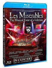 Les Miserables in Concert Musical Event of a Lifetime 25th Ann. (Blu-ray) *NEW*