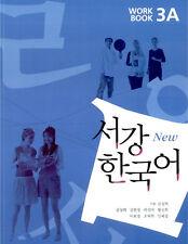 Sogang Korean 3A Workbook w/ CD Korean language