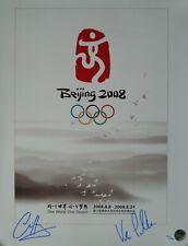 "Hoy & Pendleton Signed Ltd Edition Beijing 2008 Olympic Print 20"" x 16"""