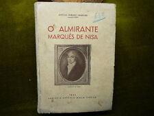 Antonio Marques Esparteiro O ALMIRANTE Marques de NISA  1944 Portugal
