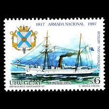 Uruguay 1997 - 180th Anniversary of the Navy Ships - Sc 1693 MNH