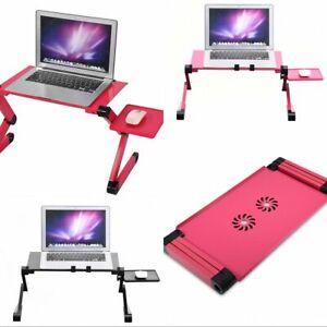 Laptop Notebook Ständer Verstellbar Faltbar Bett Tisch MacBook PC Halterungen