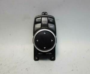 2014 BMW F30 3-Series F10 Center Console Infotainment Control Knob Touch OEM