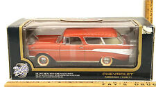 Road Tough Yat Ming 1957 Chevrolet Nomad Red 1:18 Diecast Car Model # 92088 NIB