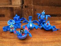 Bakugan Aquos Bundle of 6 - Battle Brawlers etc.