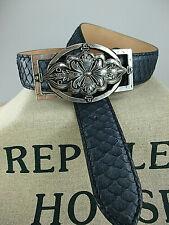 Reptile/'s House Vintage ferme Boucle pour ceinture amovible schraubgürtel NEUF