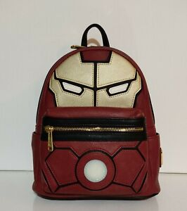 Loungefly Marvel Iron man light up mini backpack NWT HTF sold out