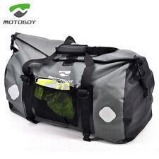 Rear Tail Back Seat Bag Motorbike Saddlebag Luggage Waterproof Travel Bags 60L