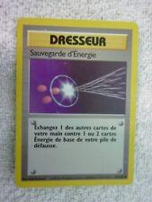 Carte pokémon dresseur sauvegarde d'énergie 81/102 peu commune set de base