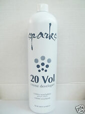 SPARKS 20 VOLUME Hair Color Lightening Creme Developer / Activator ~ 29.41 fl oz
